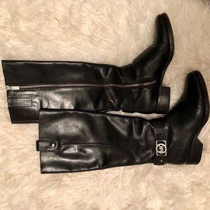 MICHAEL Michael Kors Black Riding Boots